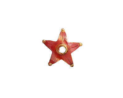 Patricia Healey Copper Star Bead Cap 5x14mm