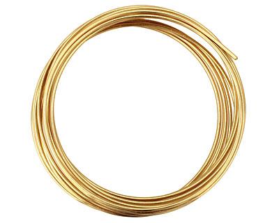 Artistic Wire Non-Tarnish Brass 16 gauge, 10 feet