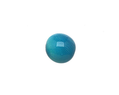 Tagua Nut Turquoise Round 11-12mm