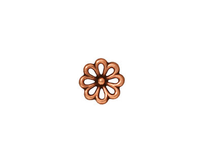 TierraCast Antique Copper (plated) Open Daisy Link 10mm