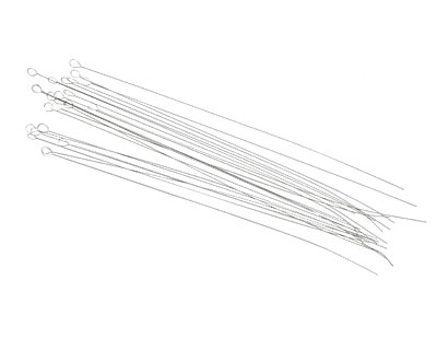 """Griffin Collapsible Fine (.00945"""") Twisted Beading Needles"""