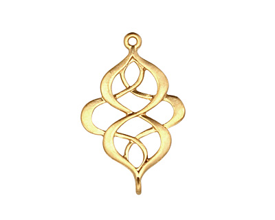Ezel Findings Gold (plated) Elegant Twist Link 17x27mm