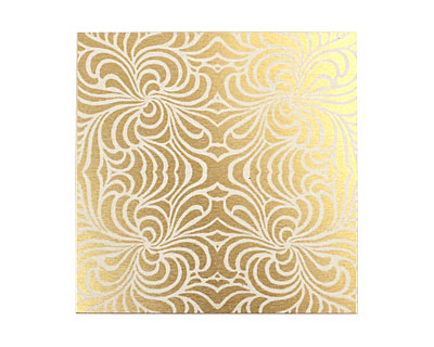Lillypilly Gold Morphed Anodized Aluminum Sheet 3