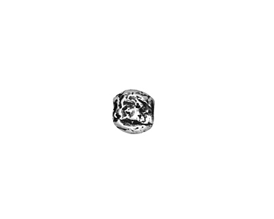Rustic Charms Sterling Silver Small Round 7mm