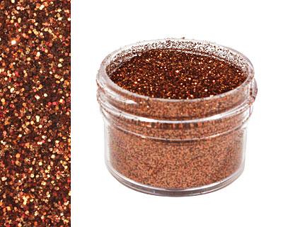Chestnut Ultrafine Opaque Glitter 1/2 oz.