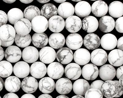 White Howlite Round 10mm