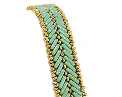Cypress Leaf Bracelet Pattern