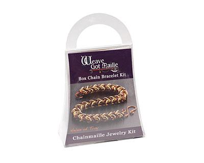 Weave Got Maille Helen of Troy Box Chain Bracelet Kit