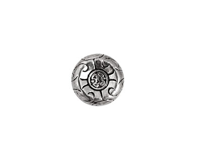 Pewter Aztec Coin 12mm
