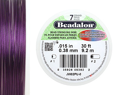 Beadalon Purple .015