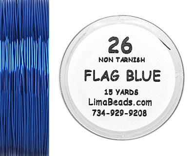 Parawire Flag Blue 26 Gauge, 15 Yards