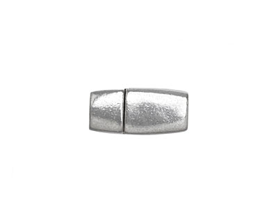 Antique Silver (plated) Tapered Magnetic Clasp 17x8mm