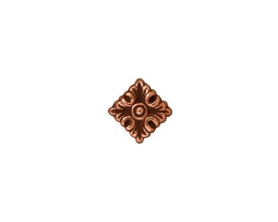 TierraCast Antique Copper (plated) Luna Diamond 11mm