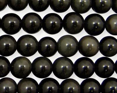 Rainbow Obsidian (AA) Round 8mm