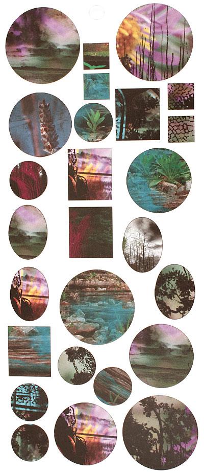 Vintaj Artistic Pond Bezel Sheet