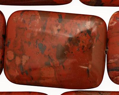 Brecciated Jasper Thin Pillow 40x30mm