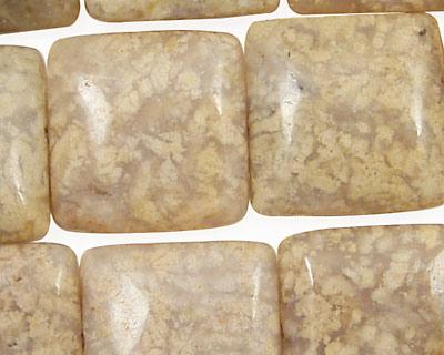 Oregon Snakeskin Agate Puff Square 20mm