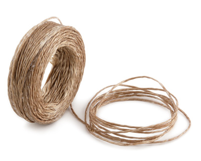 Oat Waxed Thai Knotting Cord 1mm, 75 ft