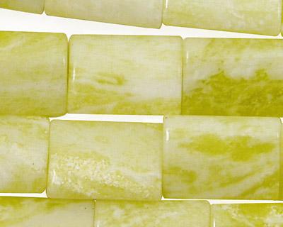 Natural Lemon Jade Thin Pillow 18x13mm