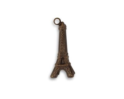 Vintaj Natural Brass Eiffel Tower Charm 8x22mm