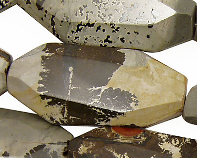 Artistic Stone Faceted Freeform Slab 45x20-22mm