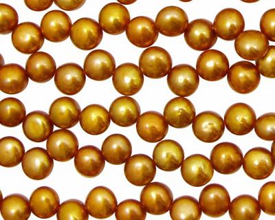 Copper Dancing Button 6-6.5mm