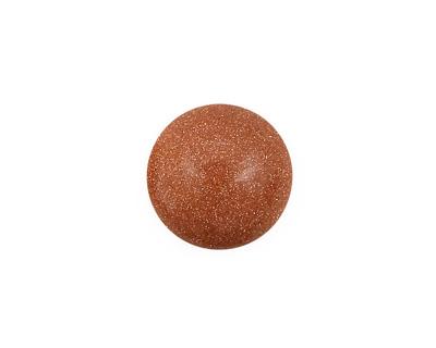 Goldstone Round Cabochon 15mm