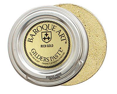 Rich Gold Baroque Art Gilders Paste 100ml