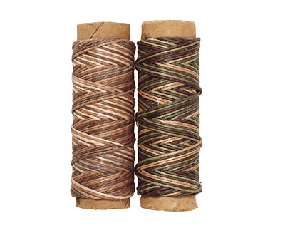 Camouflage/Earthy Hemp Twine 10 lb, 29 ft x 2 colors