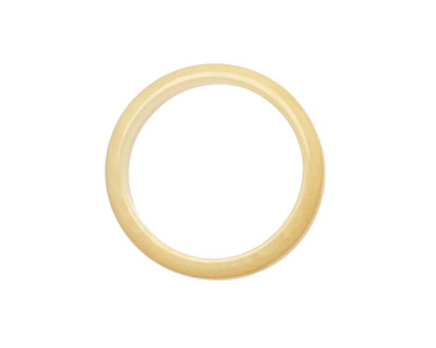 Tagua Nut Parchment Ring 22mm
