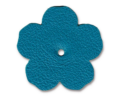 TierraCast Turquoise Leather 1.25