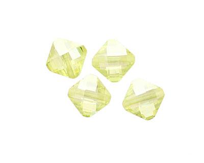 Lemon Ice Faceted Diamond 10mm
