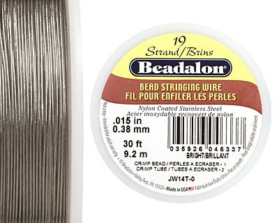 Beadalon Bright .015