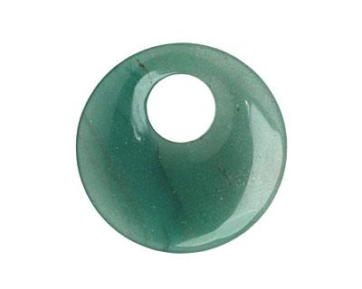 Green Aventurine Off Center Donut 45mm
