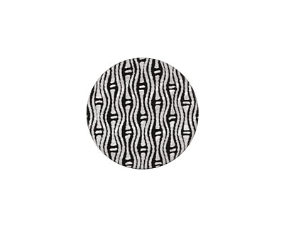 Lillypilly Black Reeds Anodized Aluminum Disc 19mm, 22 gauge