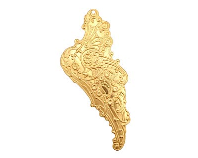 Brass Mythical Wing Right 24x54mm