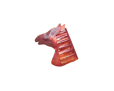 Patricia Healey Copper Pony Pendant 27x34mm