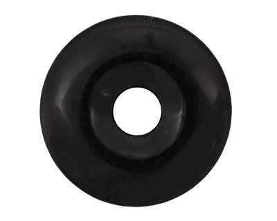 Black Agate Donut 50mm