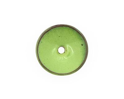 C-Koop Enameled Metal Lime Disc 3-4x18-20mm