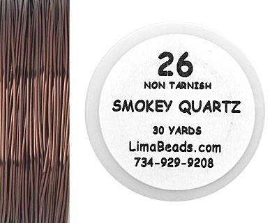 Parawire Smoky Quartz 26 Gauge, 30 Yards