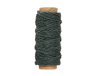 Forest Green Hemp Twine 20 lb, 29 ft