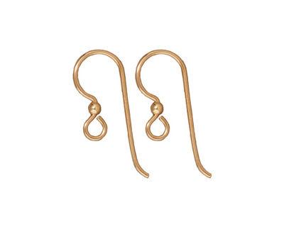TierraCast Gold Filled Earwire w/ 2mm Bead