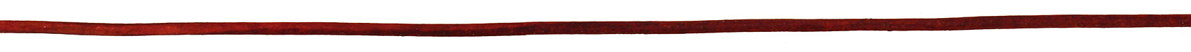 Natural Turkey Red Round Leather Cord 2mm