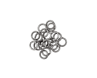 Antique Silver (plated) Round Jump Ring 4mm, 21 gauge