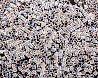 TOHO Transparent Rainbow Crystal Cube 1.5mm Seed Bead