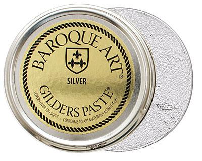 Silver Baroque Art Gilders Paste 100ml