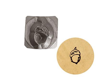 Acorn Metal Stamp 4mm