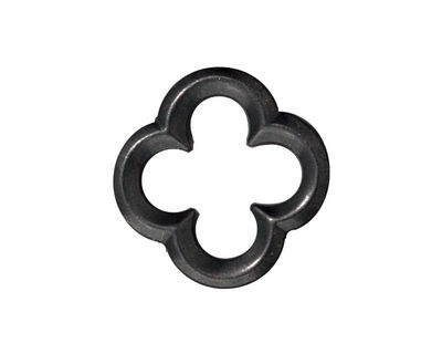TierraCast Gunmetal Large Quatrefoil Link 21mm