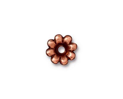 TierraCast Antique Copper (plated) Flower Rivetable 11mm