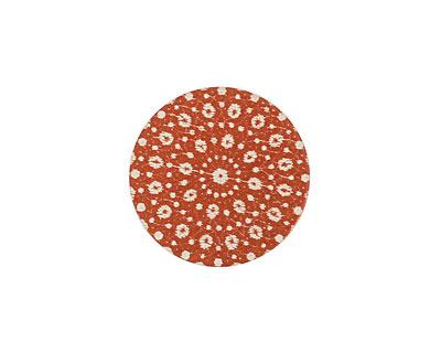 Lillypilly Bronze Crochet Anodized Aluminum Disc 19mm, 24 gauge